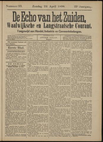 Echo van het Zuiden 1898-04-24