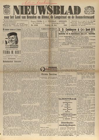 Nieuwsblad het land van Heusden en Altena de Langstraat en de Bommelerwaard 1941-05-16