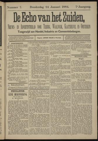 Echo van het Zuiden 1884-01-24