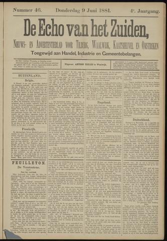 Echo van het Zuiden 1881-06-09
