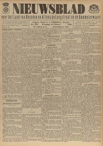 Nieuwsblad het land van Heusden en Altena de Langstraat en de Bommelerwaard 1924-02-13