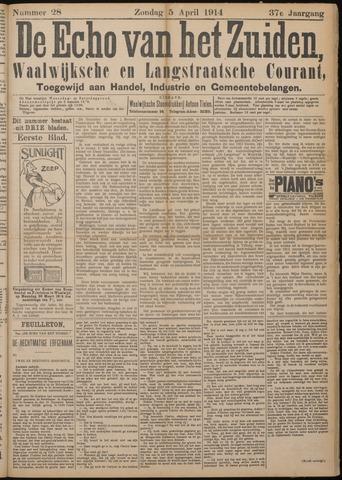 Echo van het Zuiden 1914-04-05