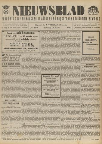 Nieuwsblad het land van Heusden en Altena de Langstraat en de Bommelerwaard 1921-03-19