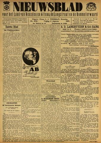 Nieuwsblad het land van Heusden en Altena de Langstraat en de Bommelerwaard 1927-08-05