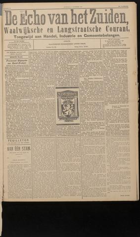 Echo van het Zuiden 1927-11-09