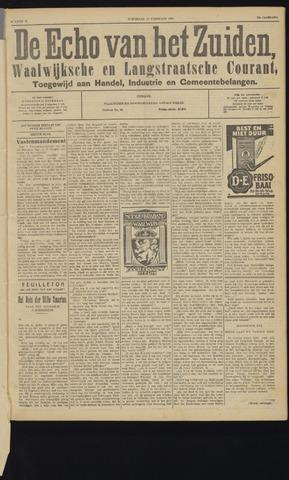 Echo van het Zuiden 1929-02-13