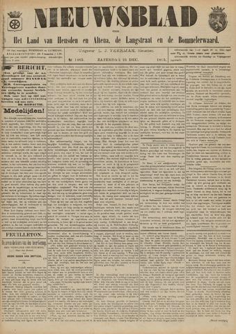 Nieuwsblad het land van Heusden en Altena de Langstraat en de Bommelerwaard 1895-12-21