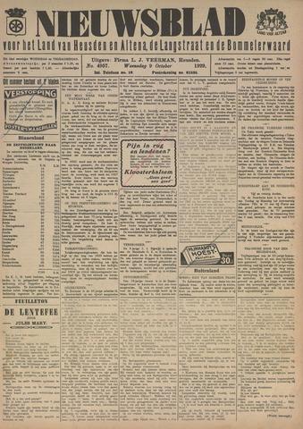 Nieuwsblad het land van Heusden en Altena de Langstraat en de Bommelerwaard 1929-10-09