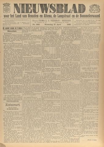 Nieuwsblad het land van Heusden en Altena de Langstraat en de Bommelerwaard 1932-04-27