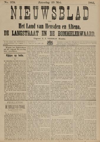 Nieuwsblad het land van Heusden en Altena de Langstraat en de Bommelerwaard 1885-05-23