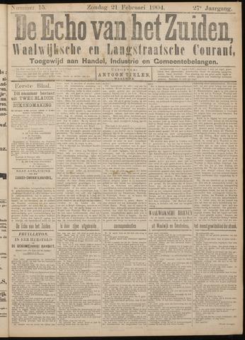 Echo van het Zuiden 1904-02-21