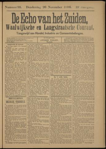 Echo van het Zuiden 1896-11-26
