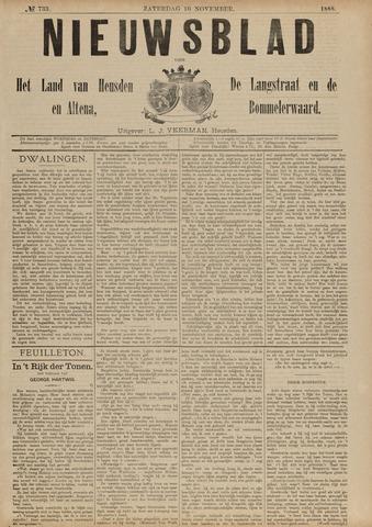 Nieuwsblad het land van Heusden en Altena de Langstraat en de Bommelerwaard 1888-11-10