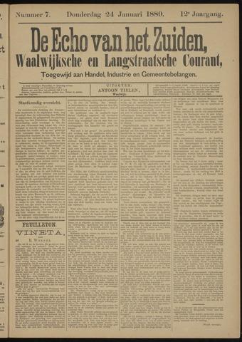 Echo van het Zuiden 1889-01-24