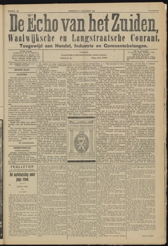 Echo van het Zuiden 1924-12-17