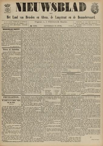 Nieuwsblad het land van Heusden en Altena de Langstraat en de Bommelerwaard 1892-06-25