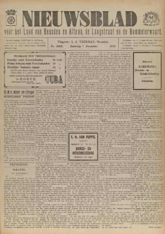 Nieuwsblad het land van Heusden en Altena de Langstraat en de Bommelerwaard 1918-12-07