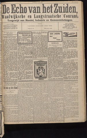 Echo van het Zuiden 1932-07-09
