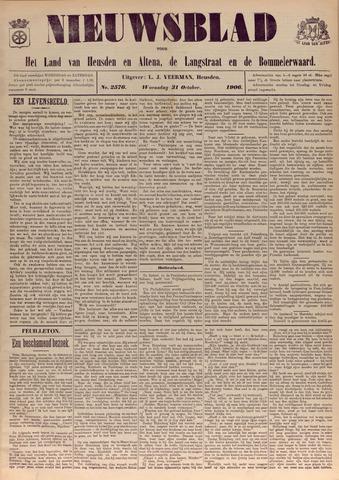 Nieuwsblad het land van Heusden en Altena de Langstraat en de Bommelerwaard 1906-10-31