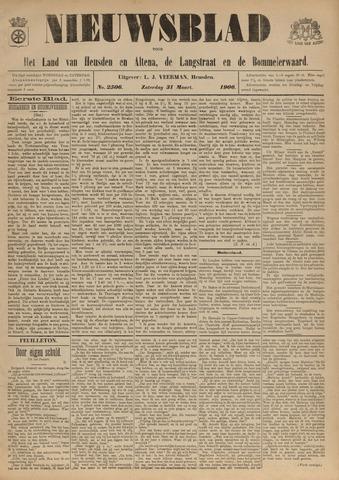 Nieuwsblad het land van Heusden en Altena de Langstraat en de Bommelerwaard 1906-03-31