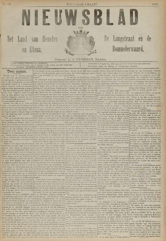 Nieuwsblad het land van Heusden en Altena de Langstraat en de Bommelerwaard 1891-03-04