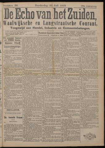 Echo van het Zuiden 1915-07-22
