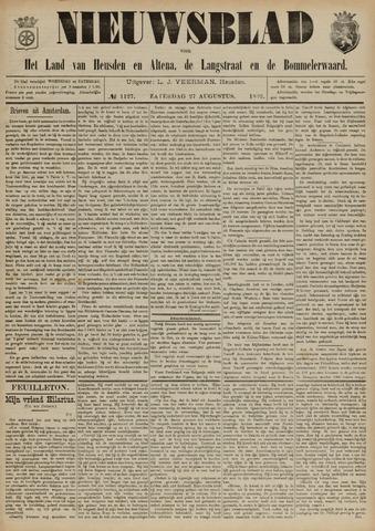 Nieuwsblad het land van Heusden en Altena de Langstraat en de Bommelerwaard 1892-08-27