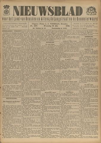 Nieuwsblad het land van Heusden en Altena de Langstraat en de Bommelerwaard 1924-05-28