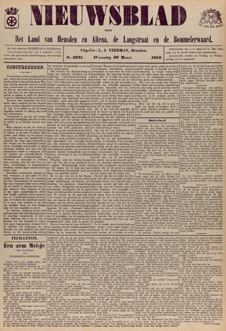 Nieuwsblad het land van Heusden en Altena de Langstraat en de Bommelerwaard 1910-03-30