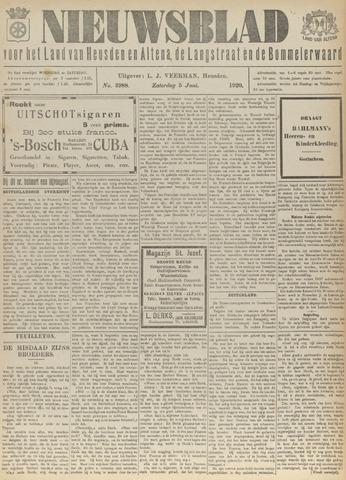 Nieuwsblad het land van Heusden en Altena de Langstraat en de Bommelerwaard 1920-06-05