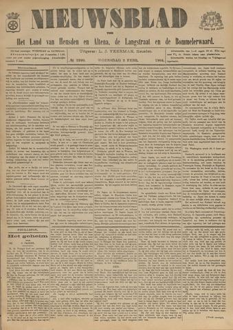 Nieuwsblad het land van Heusden en Altena de Langstraat en de Bommelerwaard 1904-02-03