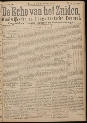 Echo van het Zuiden 1907-02-24