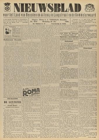 Nieuwsblad het land van Heusden en Altena de Langstraat en de Bommelerwaard 1929-05-29