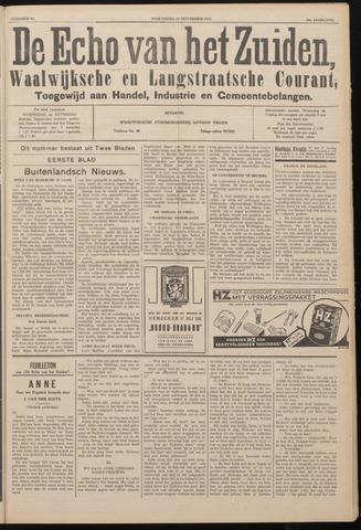 Echo van het Zuiden 1937-11-24