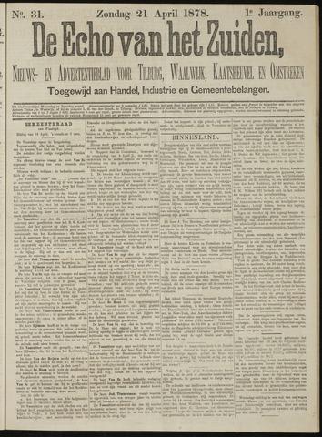 Echo van het Zuiden 1878-04-21