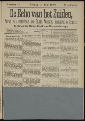 Echo van het Zuiden 1886-06-13