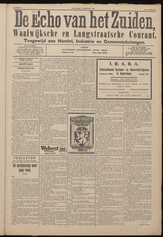 Echo van het Zuiden 1926-02-03