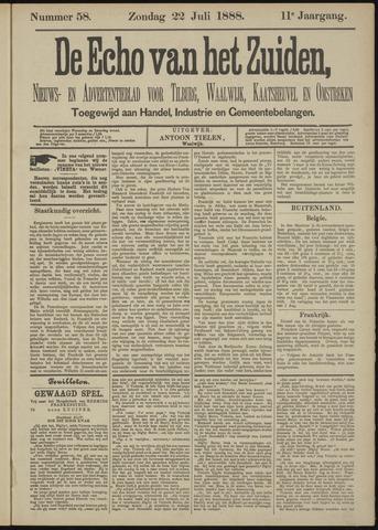 Echo van het Zuiden 1888-07-22