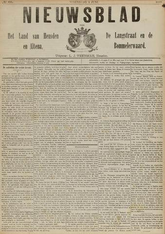 Nieuwsblad het land van Heusden en Altena de Langstraat en de Bommelerwaard 1890-06-04