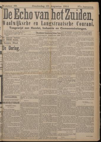 Echo van het Zuiden 1914-08-27