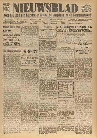 Nieuwsblad het land van Heusden en Altena de Langstraat en de Bommelerwaard 1934-01-12