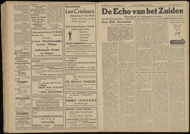 Echo van het Zuiden 1948-09-16
