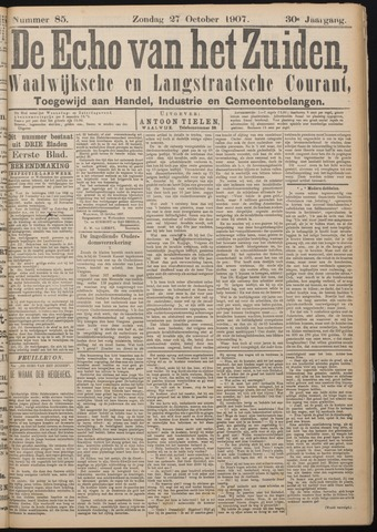 Echo van het Zuiden 1907-10-27