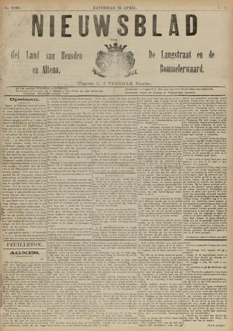Nieuwsblad het land van Heusden en Altena de Langstraat en de Bommelerwaard 1892-04-16
