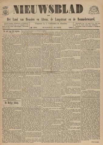 Nieuwsblad het land van Heusden en Altena de Langstraat en de Bommelerwaard 1903-09-23