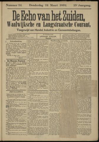 Echo van het Zuiden 1892-03-24