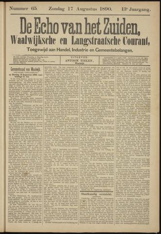Echo van het Zuiden 1890-08-17
