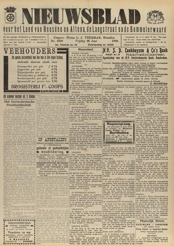 Nieuwsblad het land van Heusden en Altena de Langstraat en de Bommelerwaard 1929-06-28