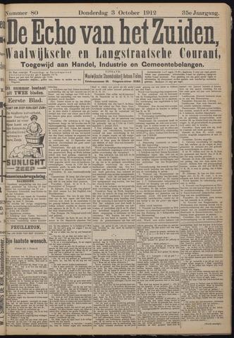 Echo van het Zuiden 1912-10-03