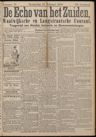 Echo van het Zuiden 1913-02-27